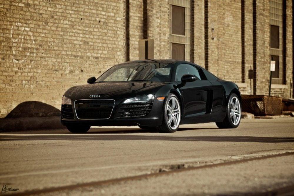 My husband's mistress.   Samantha the Audi R8.