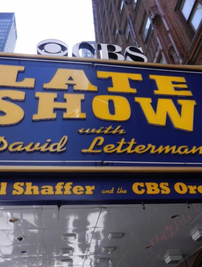 Live from New York, I saw The Late Show with David Letterman!