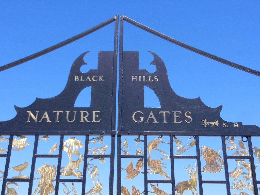 The Black Hills Nature Gate.