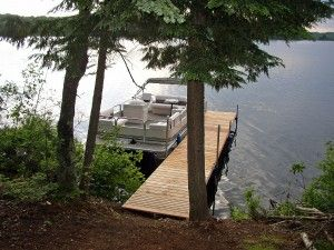 Pinestone Crossing Pontoon Dock, fractional ownership