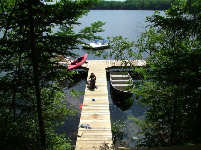 Our little slice of heaven in the Northwoods!  Pinestone Crossing.
