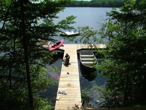 Pinestone Crossing - Swim Dock.