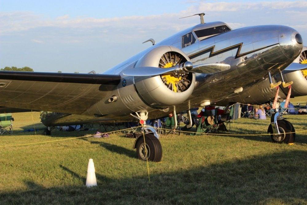 The plane model that Amelia Earhart flew.