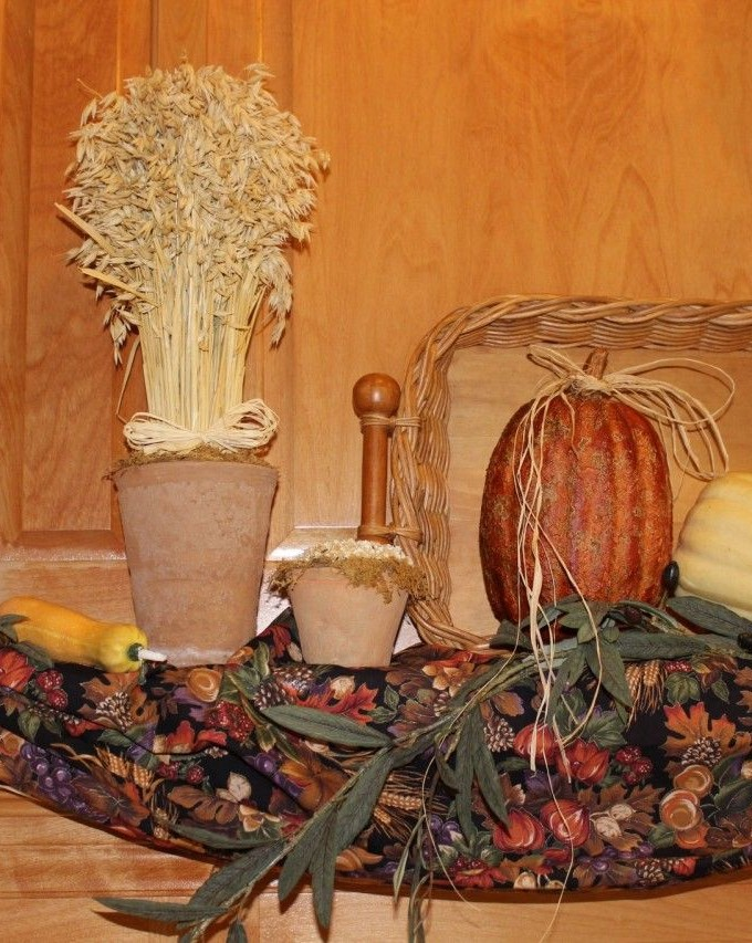 Fall Decor – Inside our twin homes.