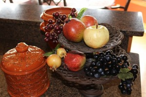 Mary's fruit vignette.  Perfect for fall.