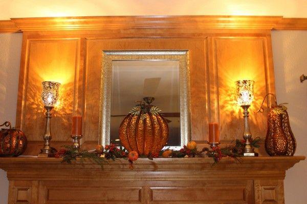 indoor fall decor.