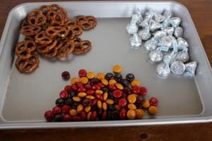 Hershey kiss treat ingredients!