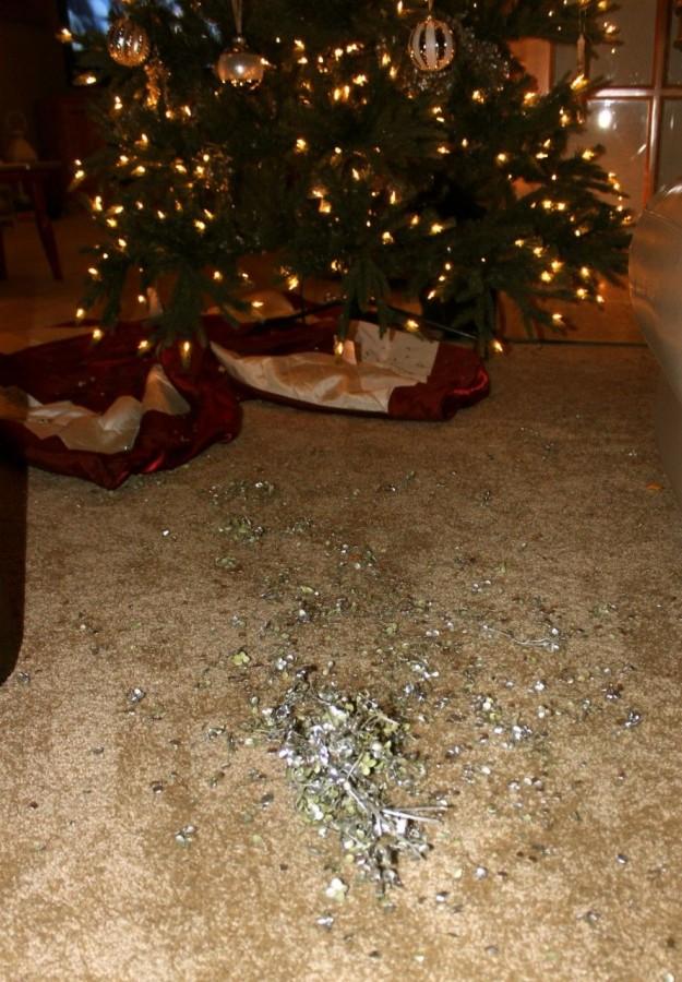 Silver hydrangea parts everywhere!