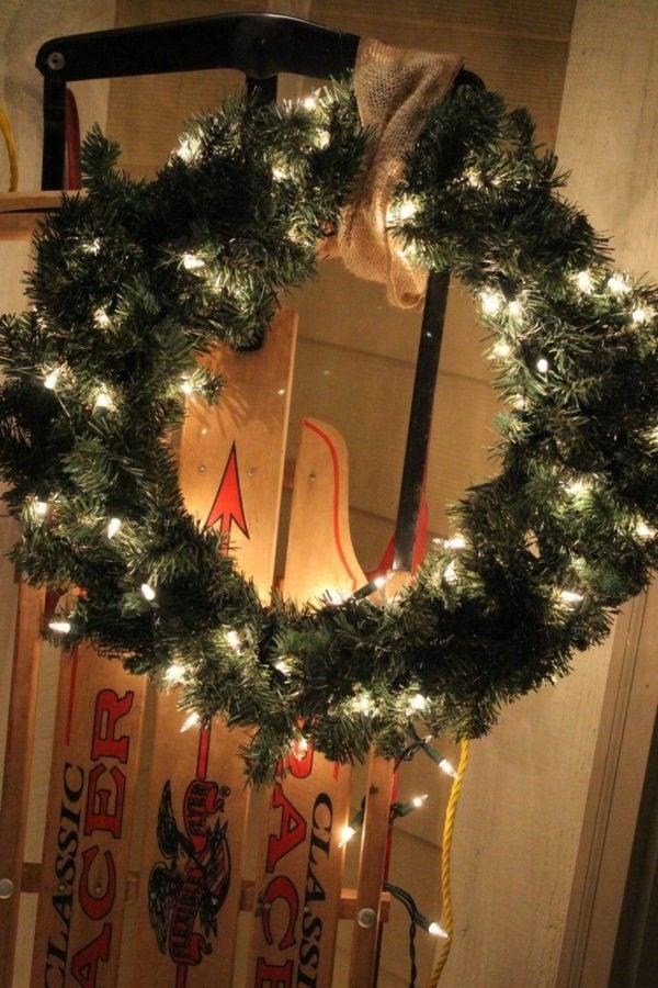 My wreath