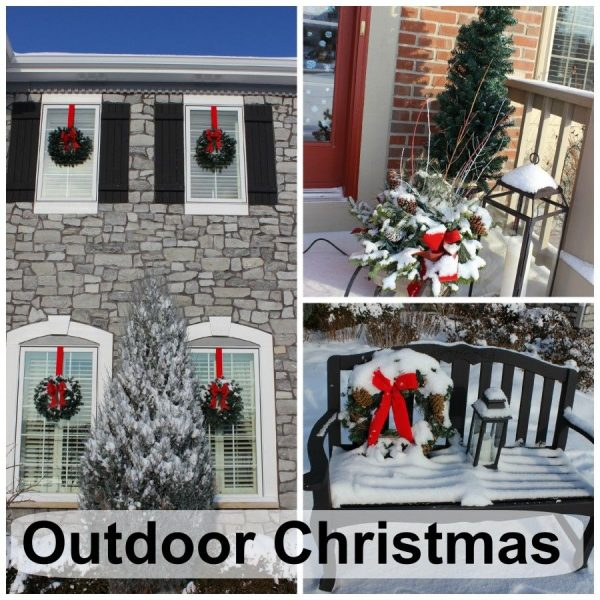 Outside Home Christmas Decorating Ideas: Wonderful Outdoor Christmas Decorations