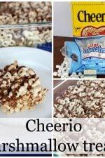 Cheerio marshmallow treat recipe