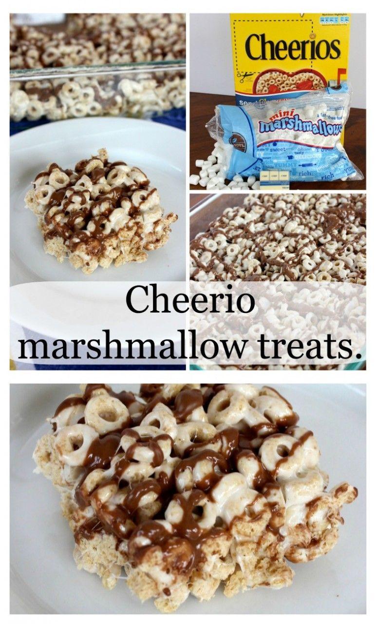 cheerio marshmallow treats