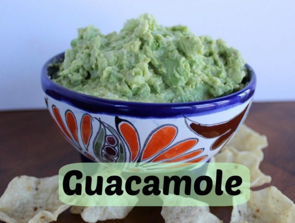 Guacamole – easy from scratch recipe!