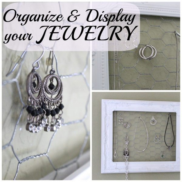 Jewelry – Displayed, organized, pretty!