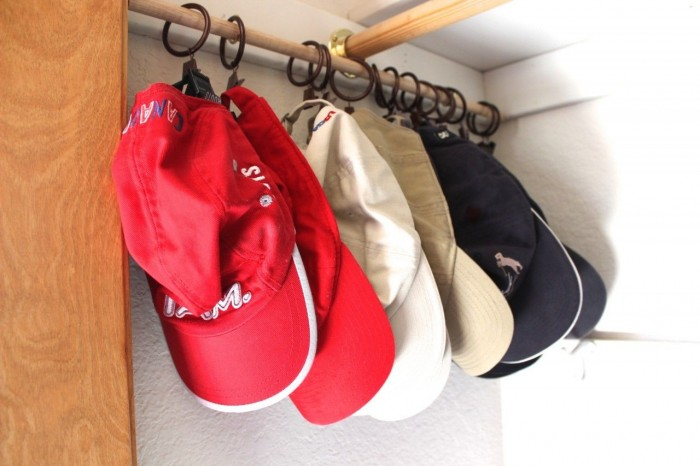 ball cap storage