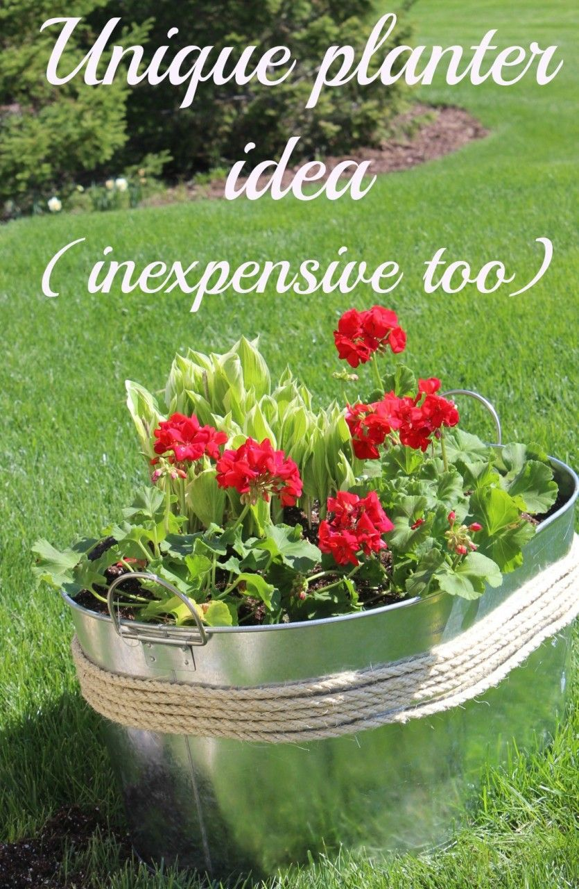 Make your own unique flower planter container idea inexpensive make your own unique flower planter container idea inexpensive too momcrieff izmirmasajfo
