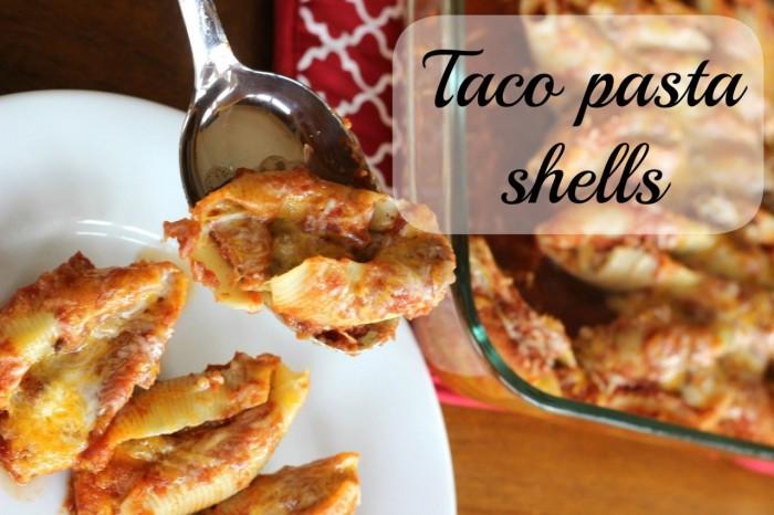 taco pasta shells