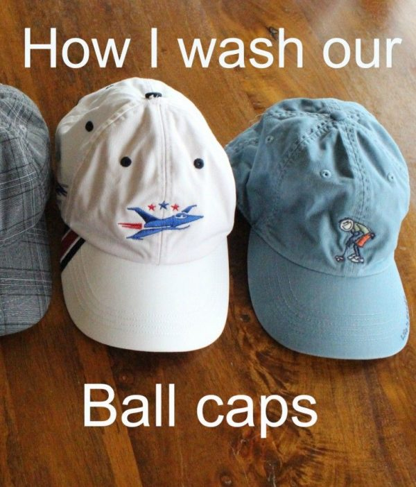 Wash your ball caps.