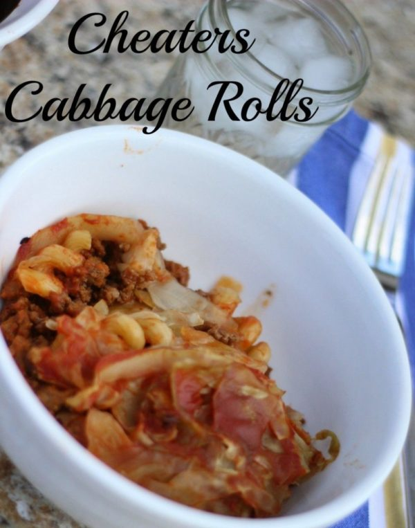 Cheater's Cabbage Rolls – easy and tasty!