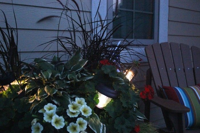 planter lighting