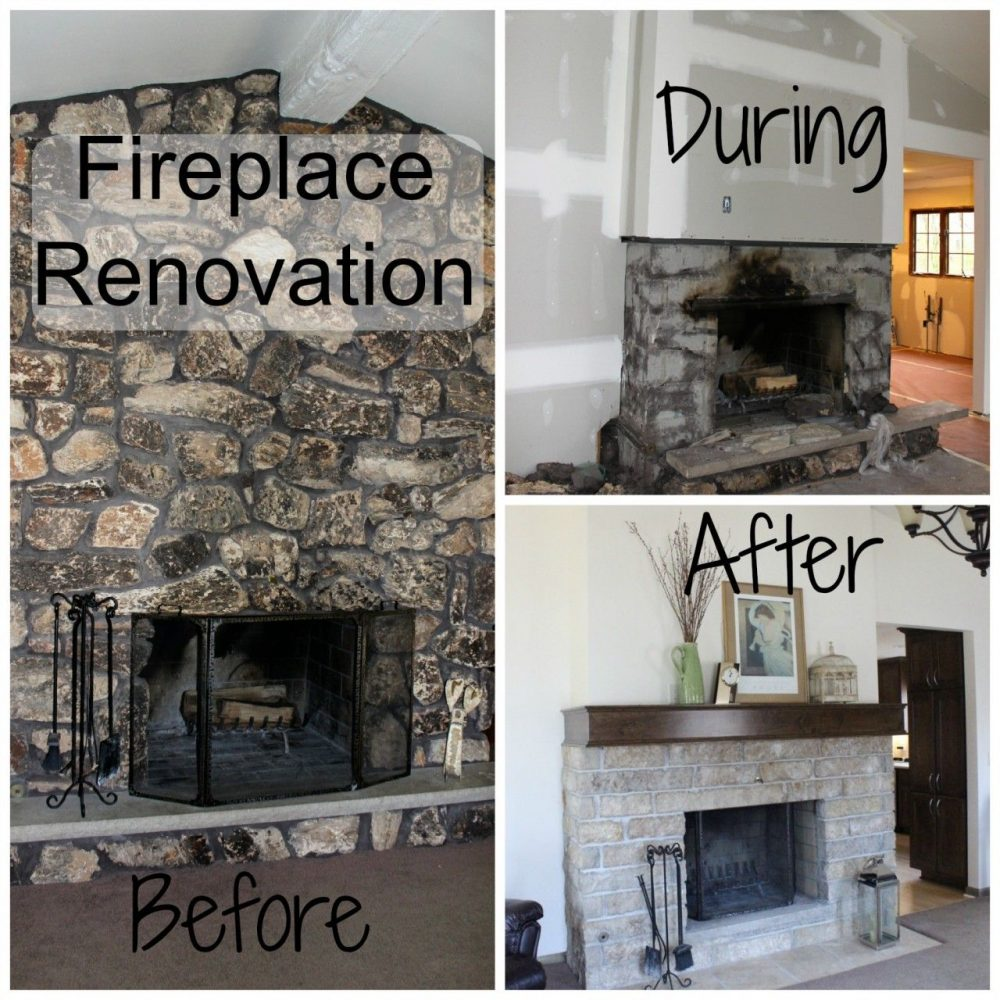 fireplace renovation from ugly to awesome momcrieff