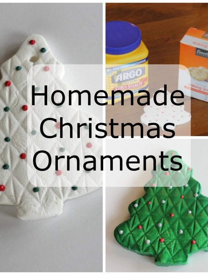 Christmas Ornaments – easy, homemade ornaments.