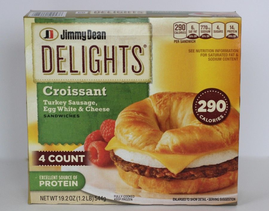 A package of Jimmy Dean beakfast croissants