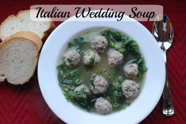 Italian Wedding Soup – Homemade!