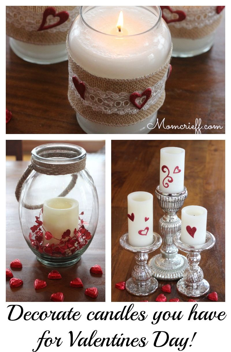 Recycle Candles For Valentine S Day Decorations Momcrieff