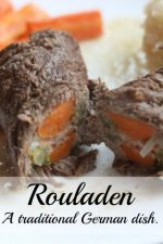 Rouladen - A traditional German meat dish.