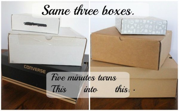 Beautify your boxes – just turn them inside out!