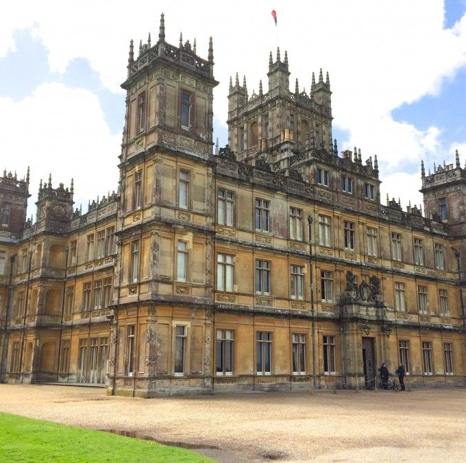 Tea at Downton Abbey