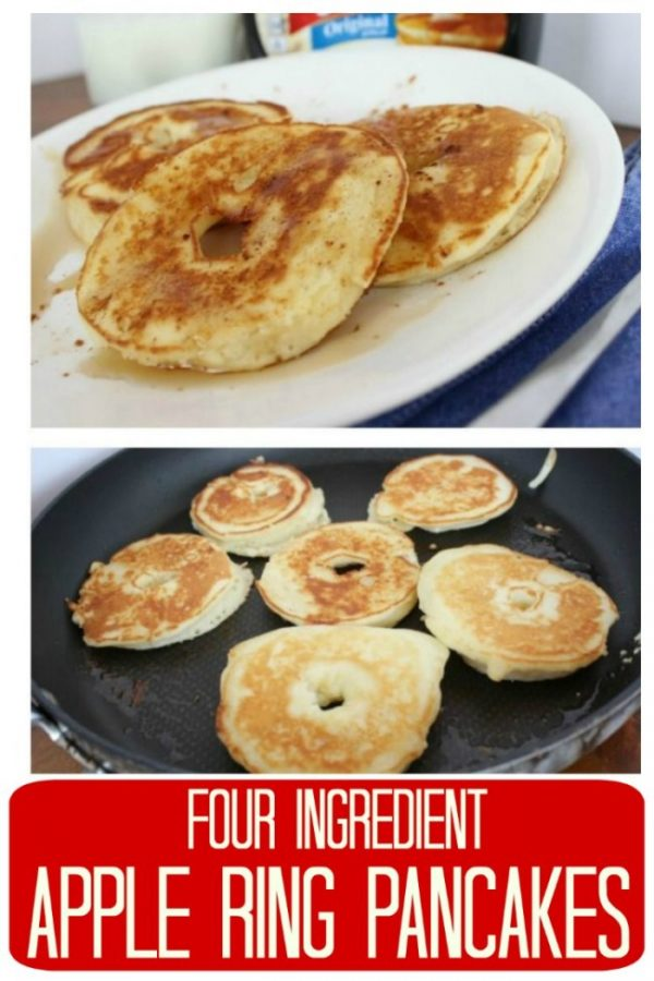 Sliced apple pancake rings – a delicious & different breakfast.