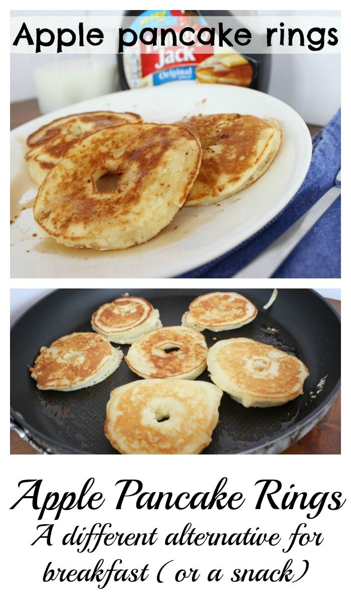 Apple Pancakes - Something different for breakfast, brunch or even for an after snack.