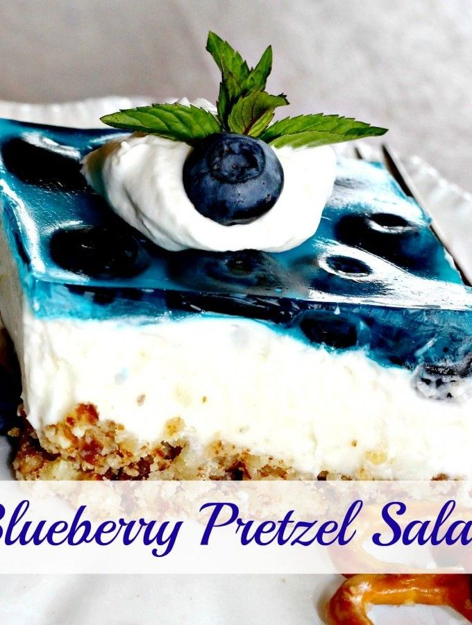 Blueberry Salad (I'd call it dessert!)