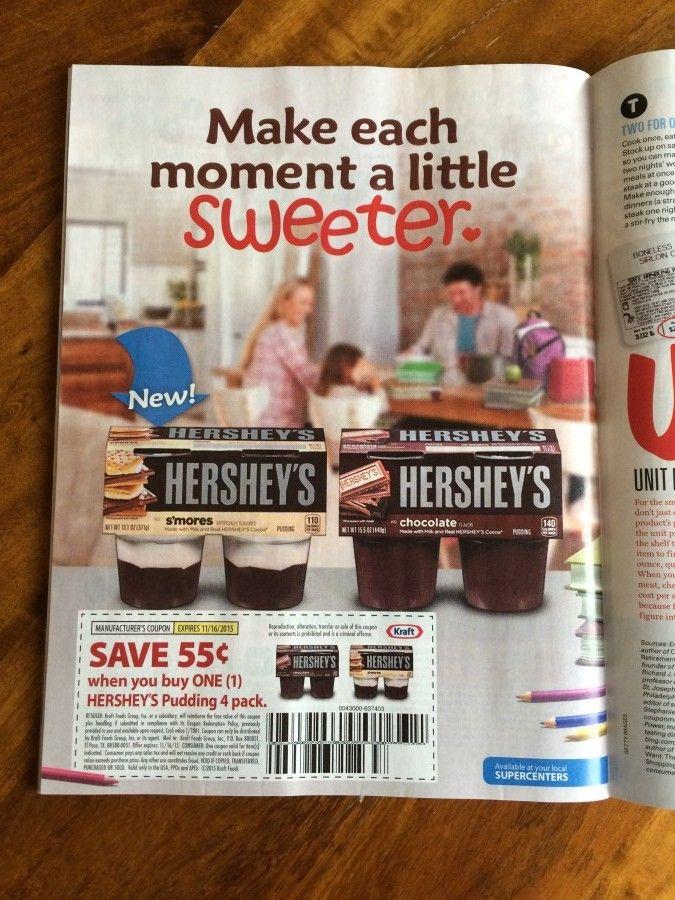 Hershey Pudding