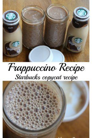 Frappuccino - my Starbucks copycat recipe