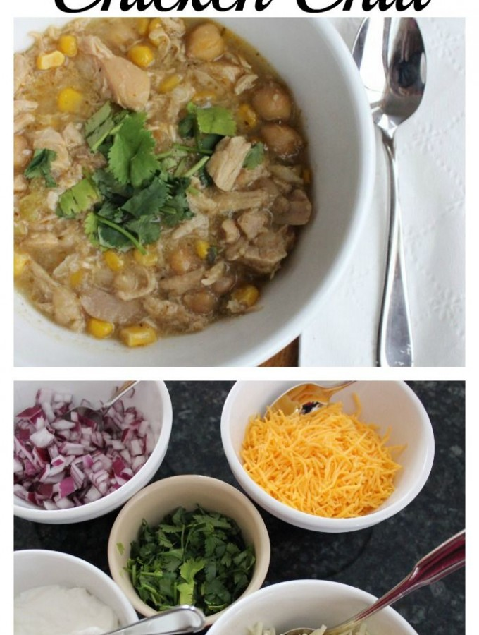White chicken chili recipe!