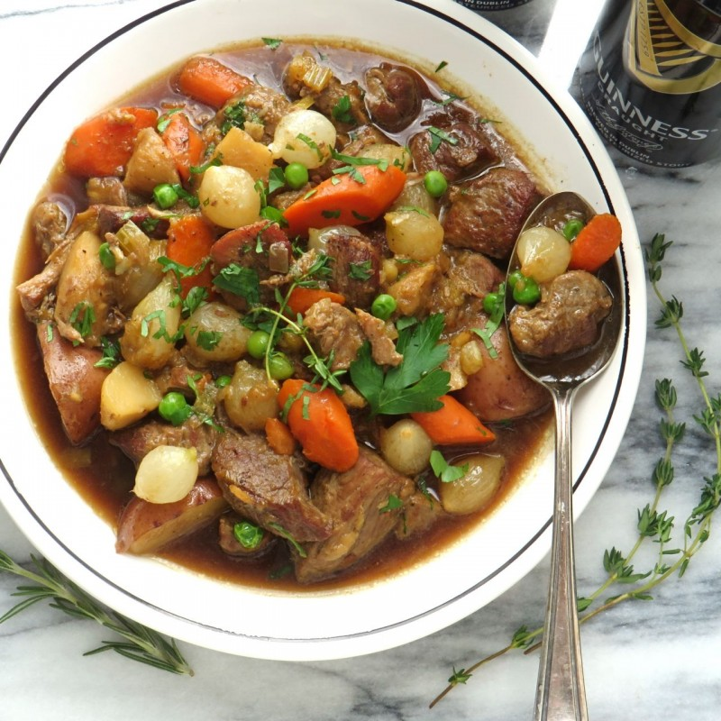 St. Patrick's Day - Irish Stout Lamb Stew