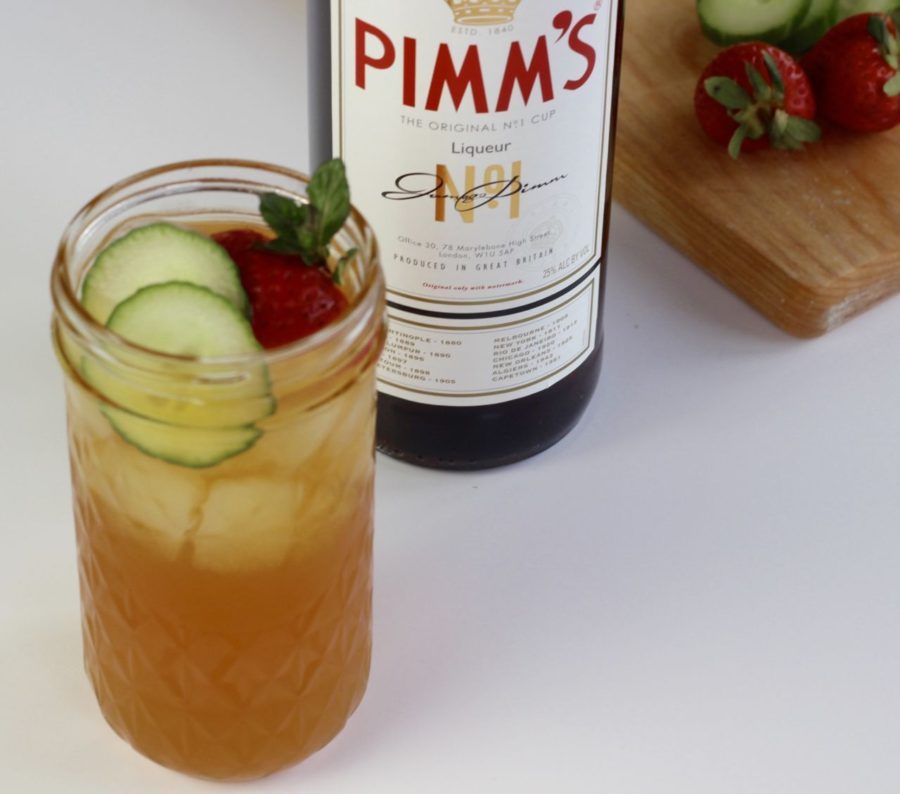 Pimm's, an adult beverage