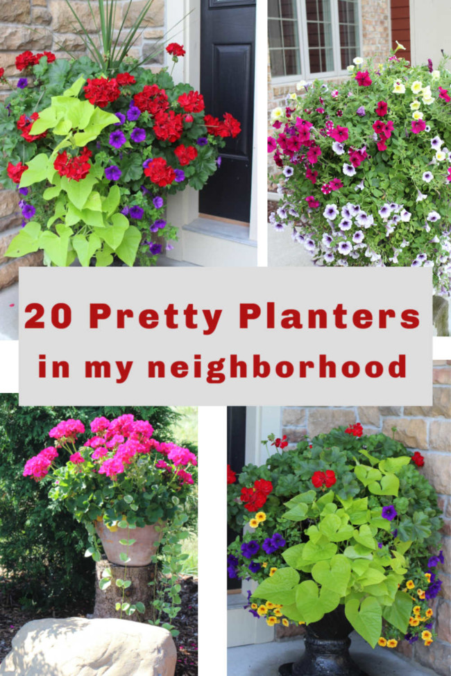 Ideas From 20 Planters My, Patio Planters Ideas