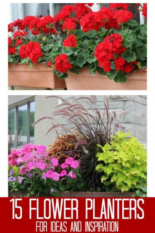 15+ Front Porch Planters & Window Boxes