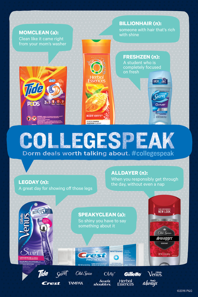 #CollegeSpeak