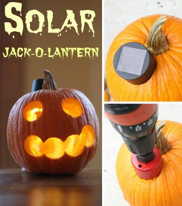 Solar Jack-O-Lantern Tutorial.