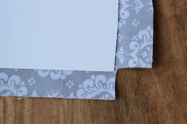 Mod Podge and fabric challenge