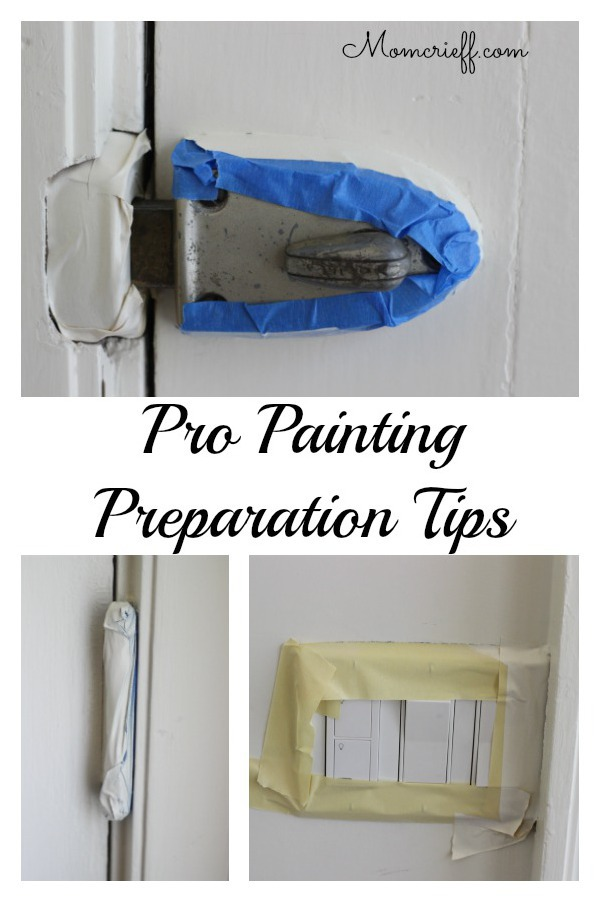 Painting Preparation Tips (I spied on my professional painters).