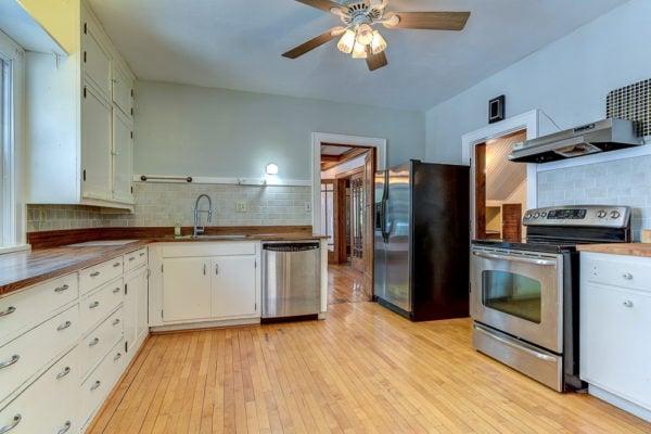 Original kitchen.