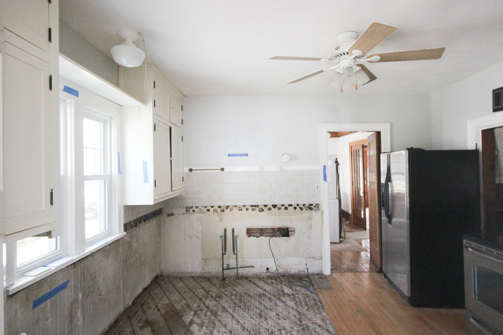 My kitchen remodel. I bought a house without a kitchen. - Momcrieff