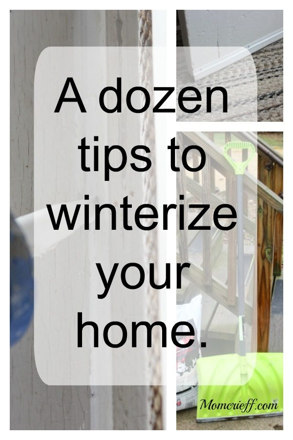 A dozen tips to winterize your home.