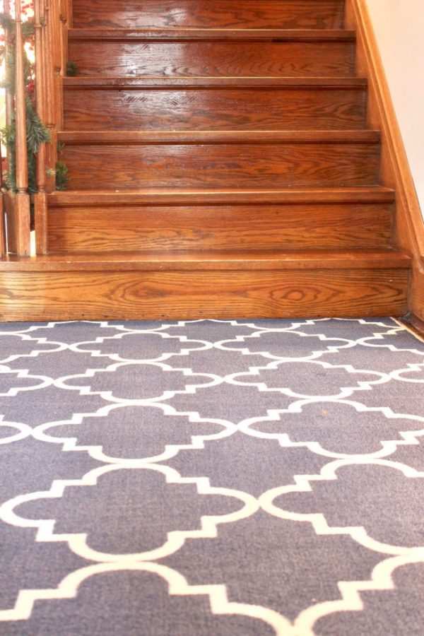 Area rugs are insulating, winterization tip.